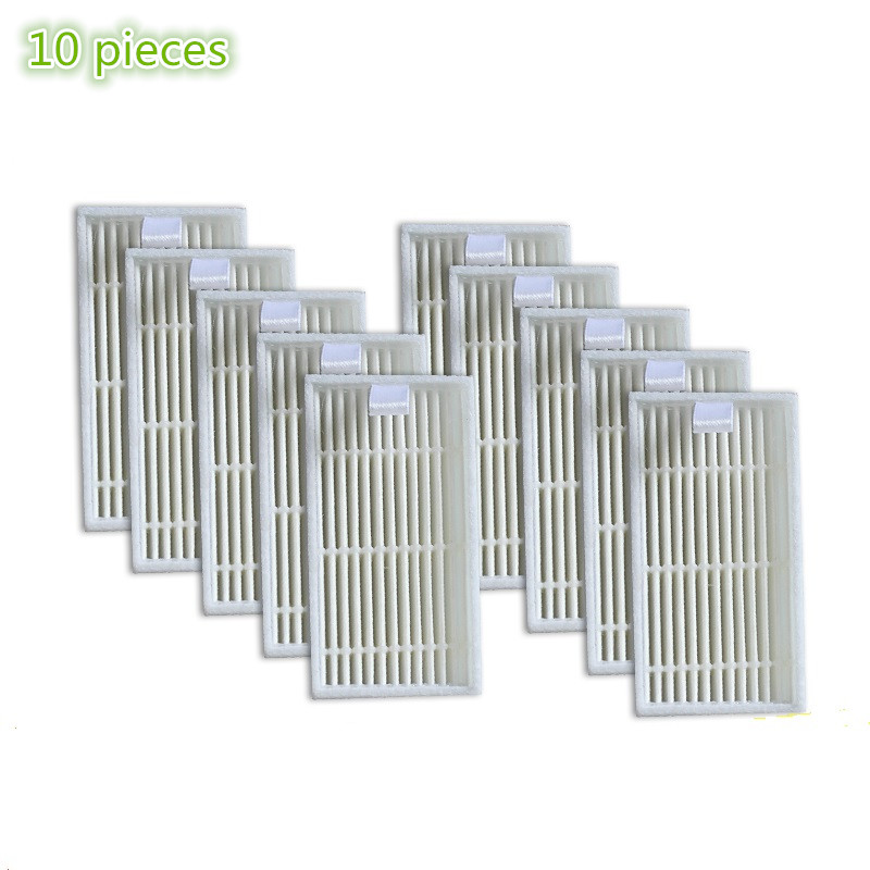 10 pieces/lot Robot Vacuum Cleaner HEPA Filter replacement for Chuwi ilife V1 Robotisc Vacuum Cleaner ilife v1