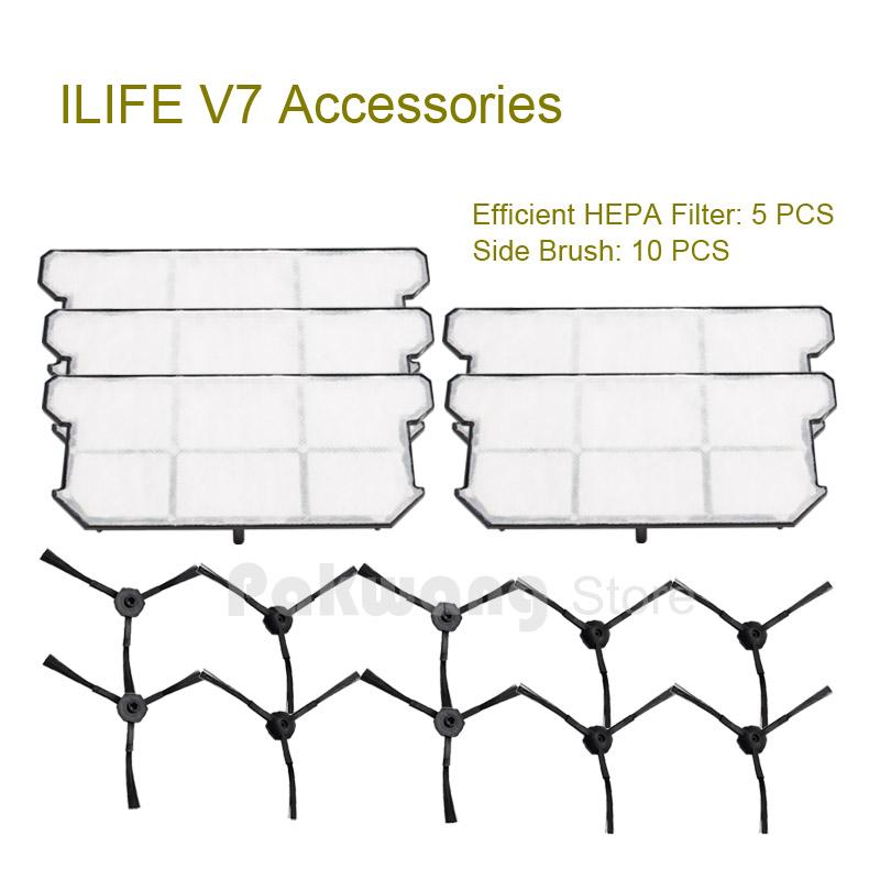 ILIFE V7 Robot Vacuum Cleaner Accessories