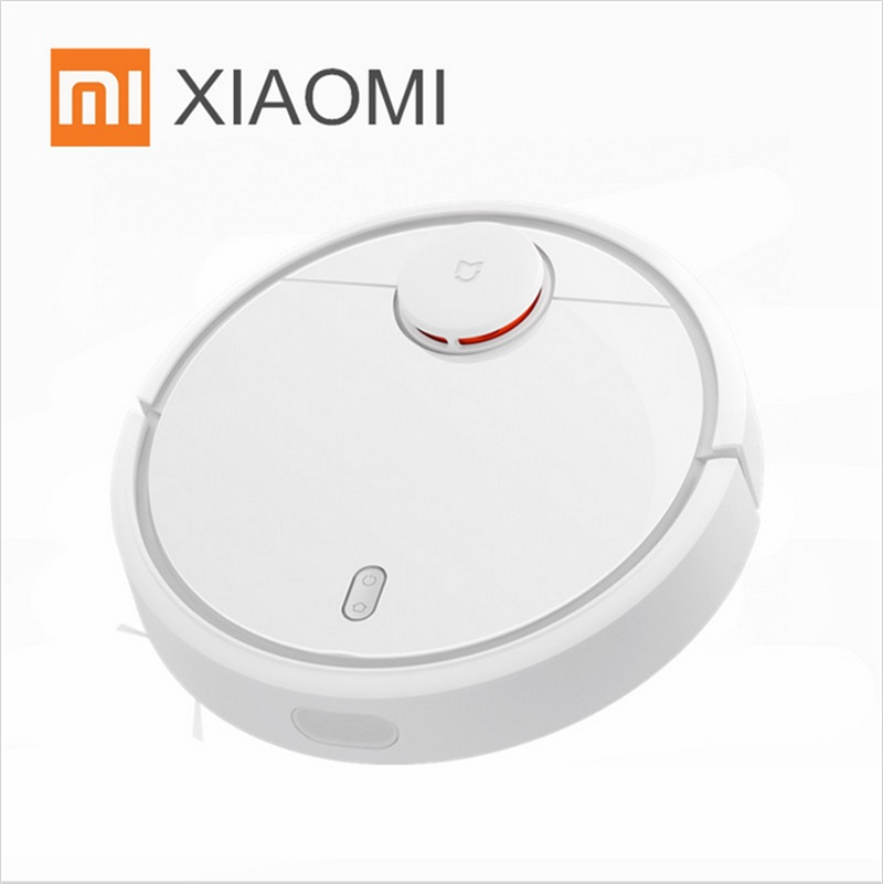 Original XIAOMI MI Sweep Robot Vacuum Cleaner for Home Automatic Sweeping Dust Sterilize Smart Planned Mobile App Remote Control