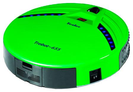 Робот-пылесос TESLER Trobot - 655 зеленый