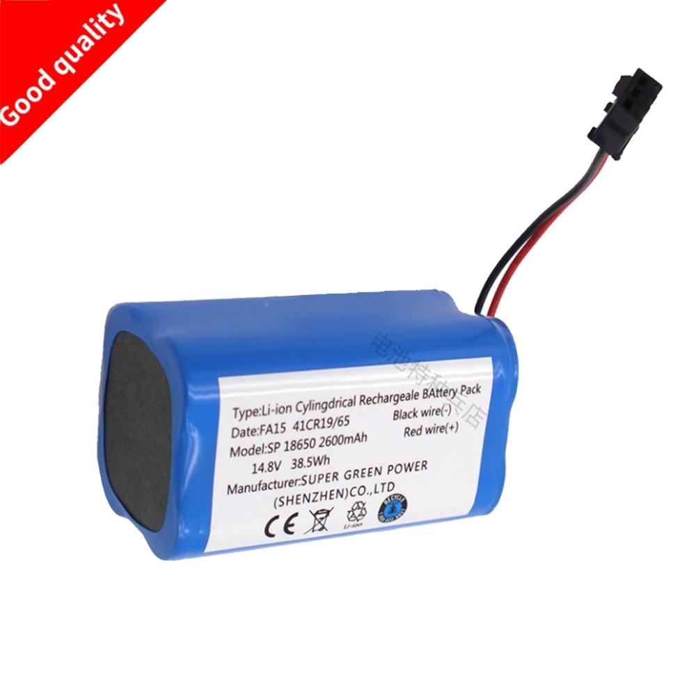 14,8 В 2600 мАч литий-ионный Батарея Перезаряжаемые Батарея для PUPPYOO V-M900R 900 г робот-пылесос высокого качества горячая распродажа