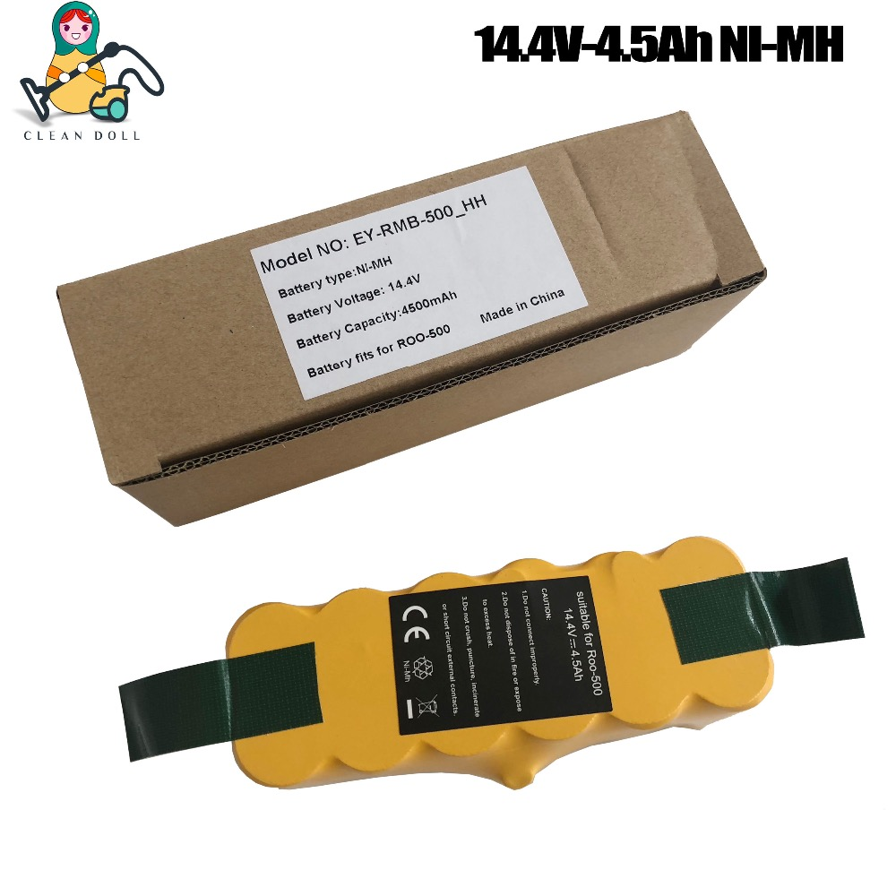4500mAh NI-MH CLEAN DOLL Replacement battery for iRobot Roomba 500 530 555 620 650 700 770 780 880 870 980 battery roomba