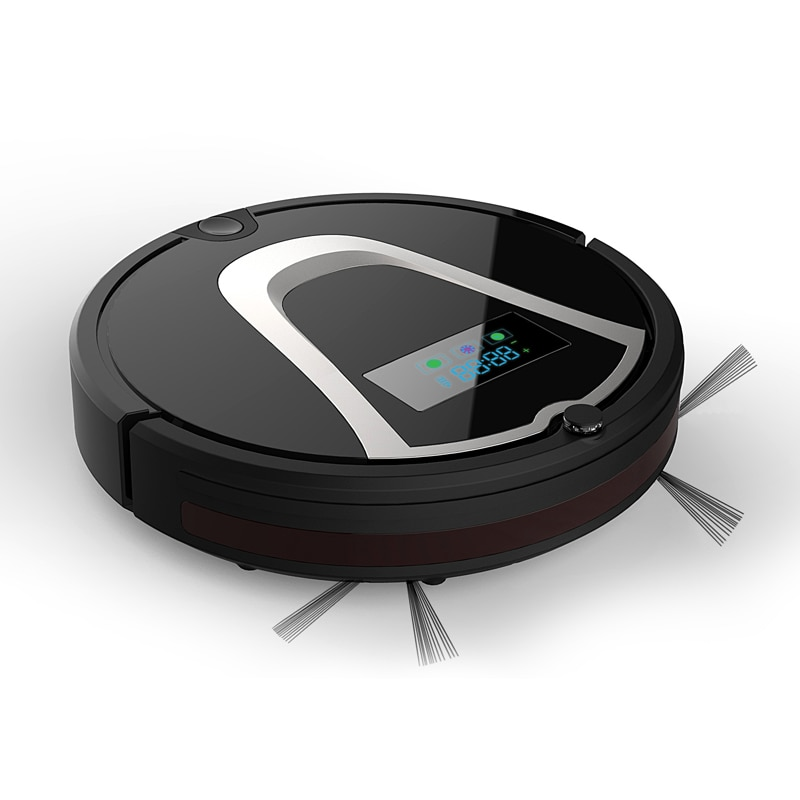 Eworld Smart Robot Vacuum Cleaner Multifunctional Intelligent Robotic Cleaner Self-Charge Home Appliances Vacuum Remote Control