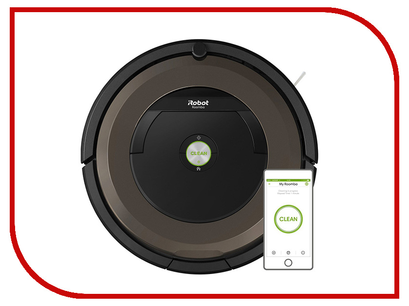 Пылесос-робот iRobot Roomba 896 Black-Brown