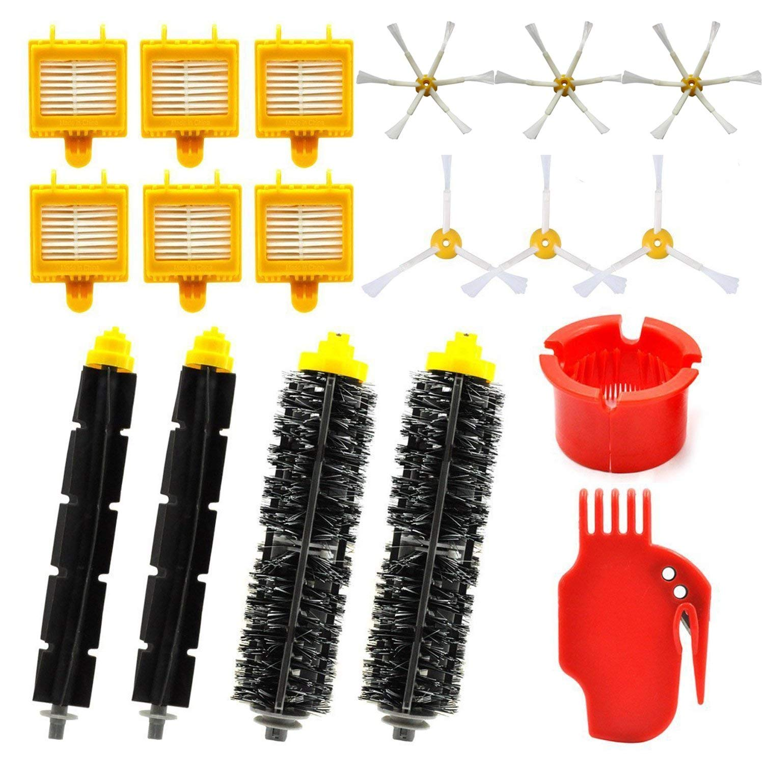 vacuum cleaner parts Replacement Parts Kit for iRobot Roomba 700 Series - Accessories Kit for Roomba 760 770 780 790 (18 in 1)